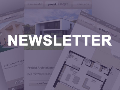 Marty Häuser Newsletter