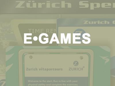 Zurich E-Games mit Portfolio